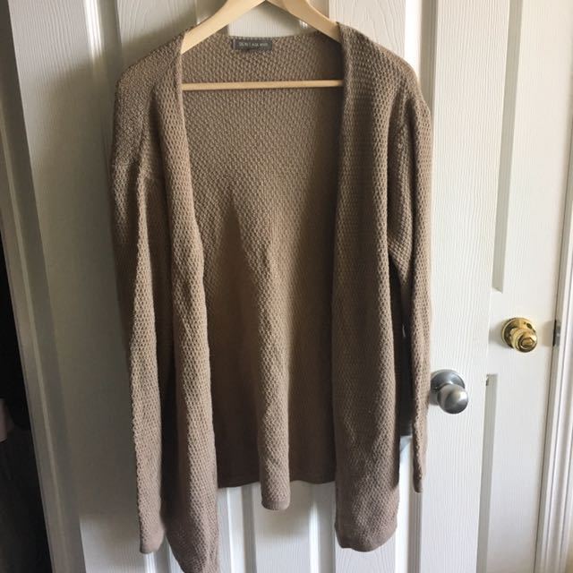 Beige Knit Cardigan (Don't Ask Why)
