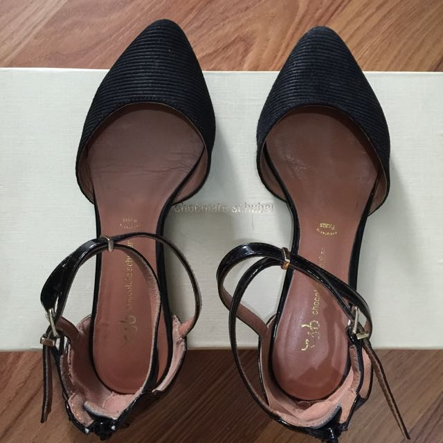 Black Pointed Flats #ClearanceSale