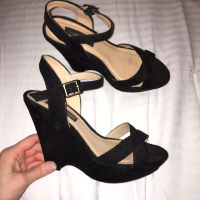 Black Heels London Rebel