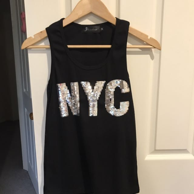 Black NYC Singlet