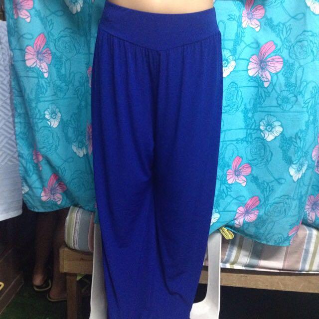 Blue Flair Pants