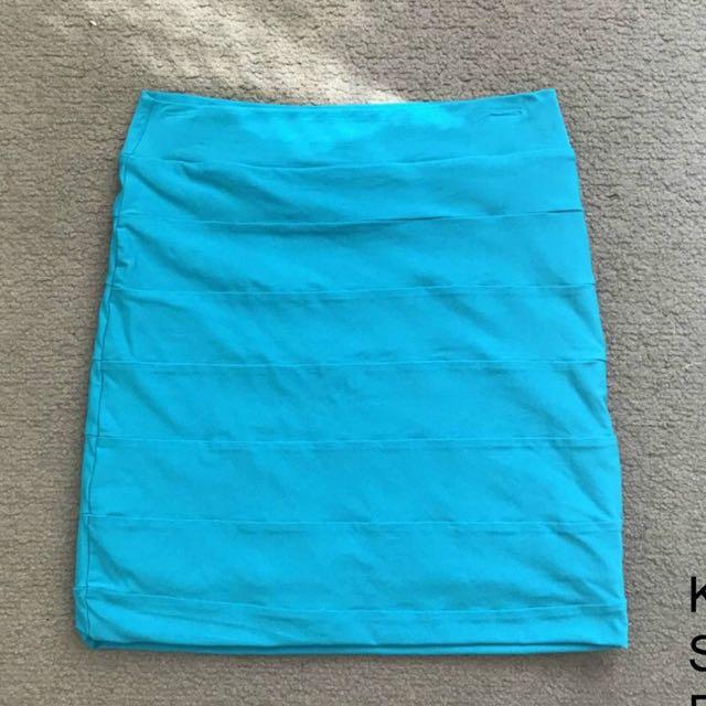 Blue Kookai Skirt
