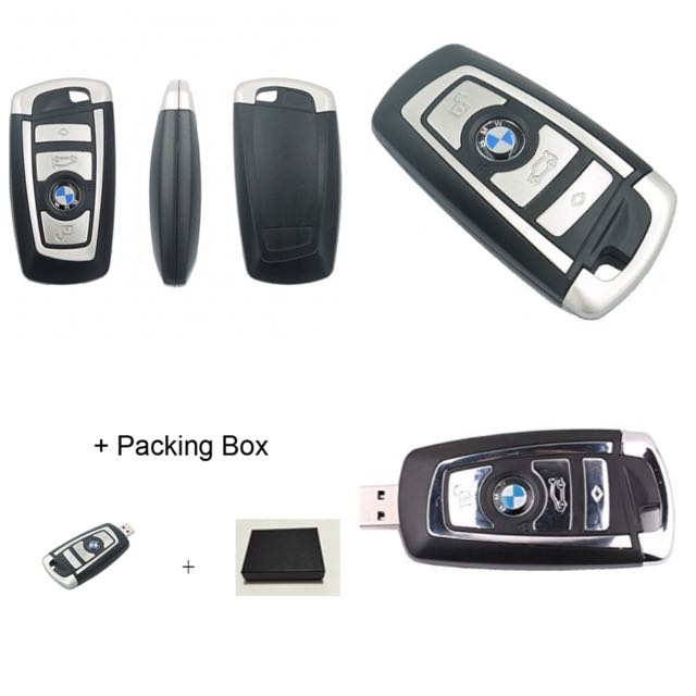 Bnr Bmw Usb Flash Drive Car Key 4gb