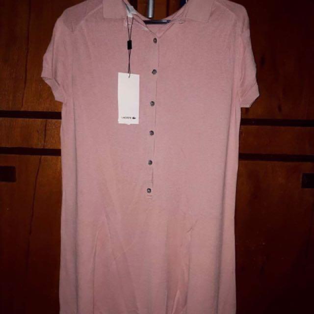 BNWT Lacoste Women's Plus 42 Size Dress
