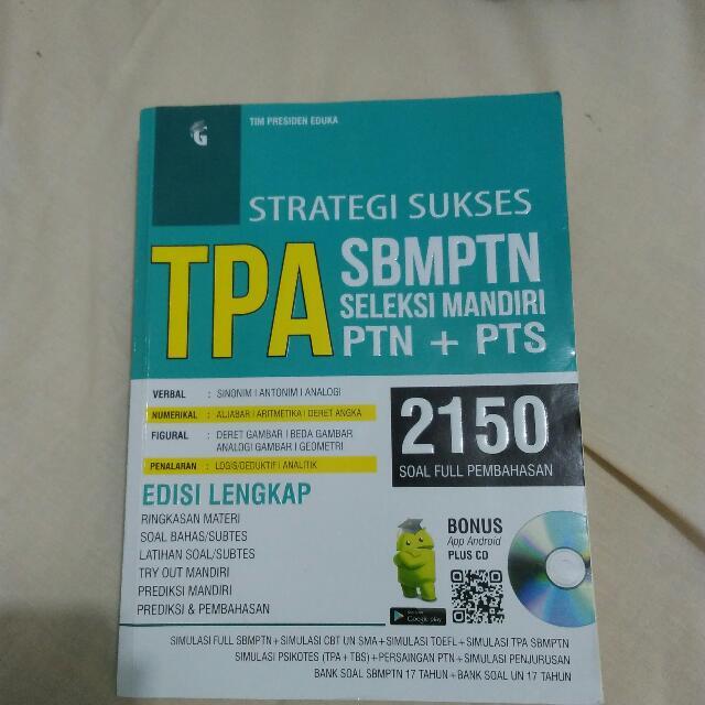 Buku Latihan TPA SBMPTN