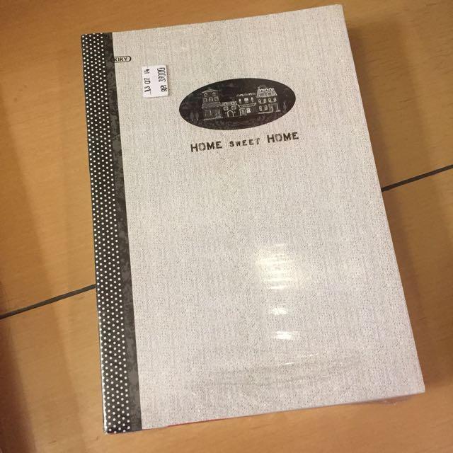 Buku Tulis Bergaris