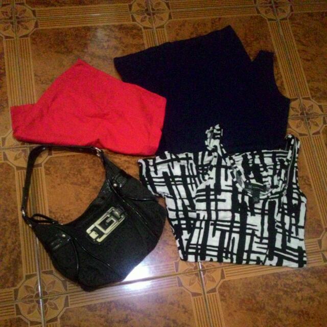 Bundle G-bag And Clothes