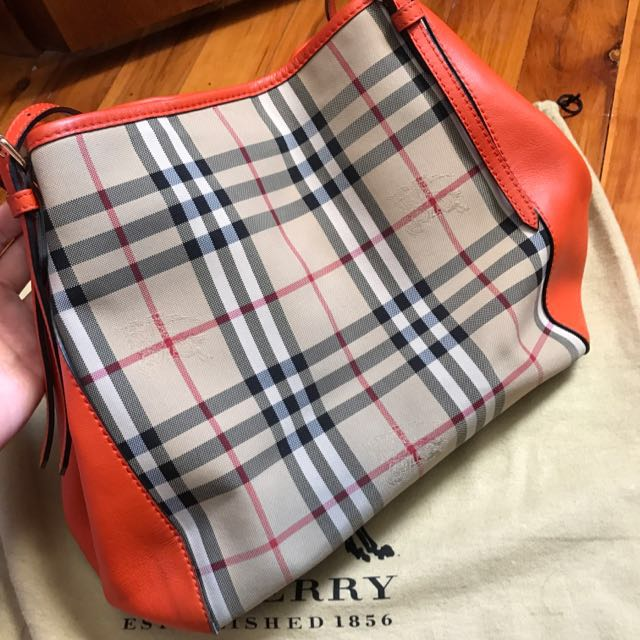 Burberry Horse ferry Canterbury Tote