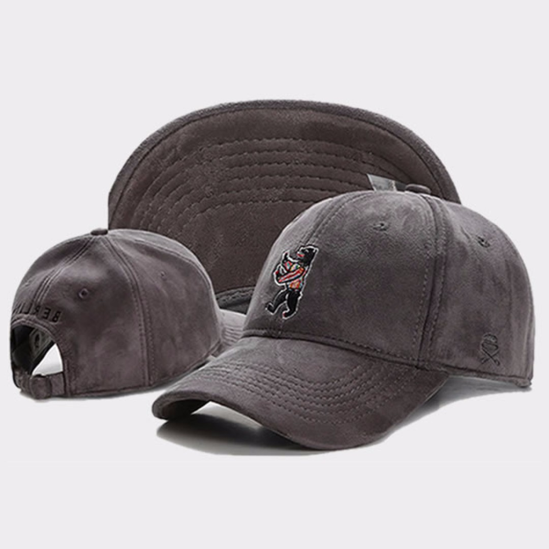 e3c77cbadff Cayler   Sons C S and Son Dark Grey Berlin Bear Baseball Golf Cap ...