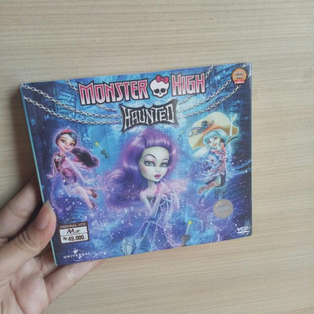 Cd monster high haunted