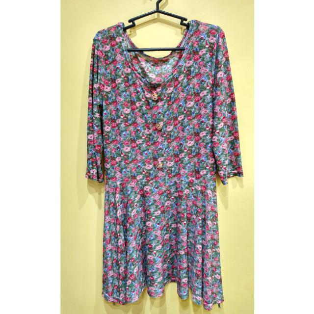 Comfy Floral Dress ❤