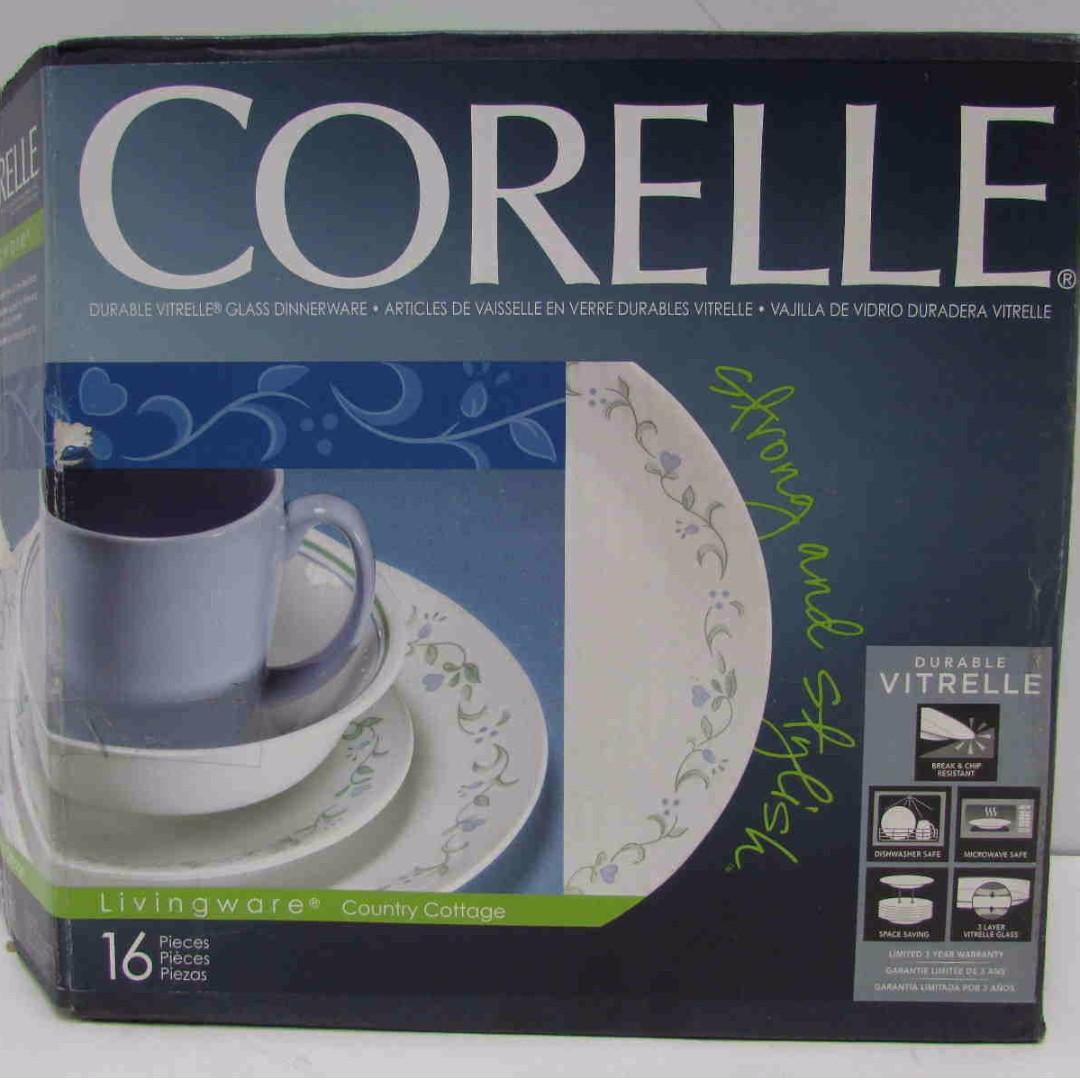 blue review set country cottage livingware blog rnd dishes pc corelle cottages cor dinnerware provincial