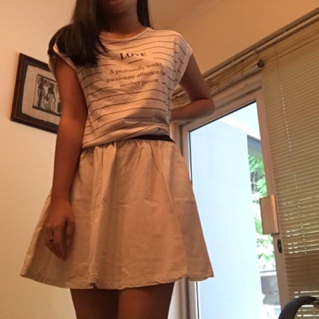 [REPRICED] COTTON ON mini skater skirt