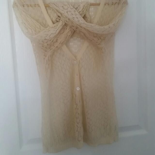 Crochet Top/ Cardigan
