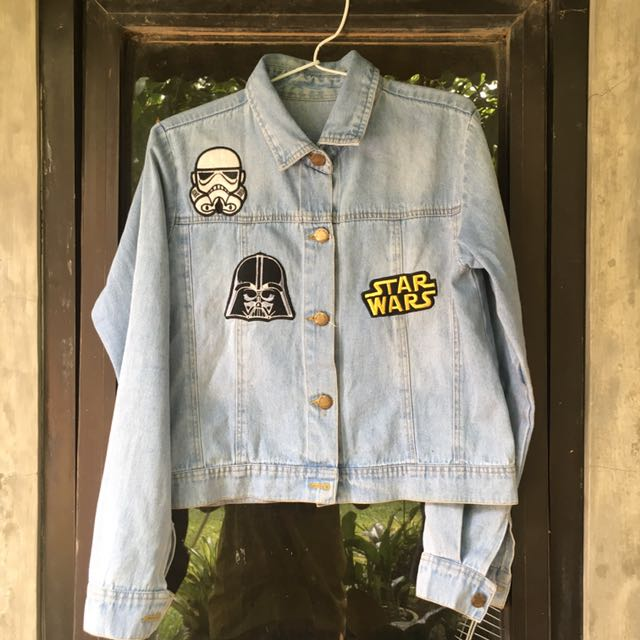 REPRICEEEEE DENIM JACKET STARWARS