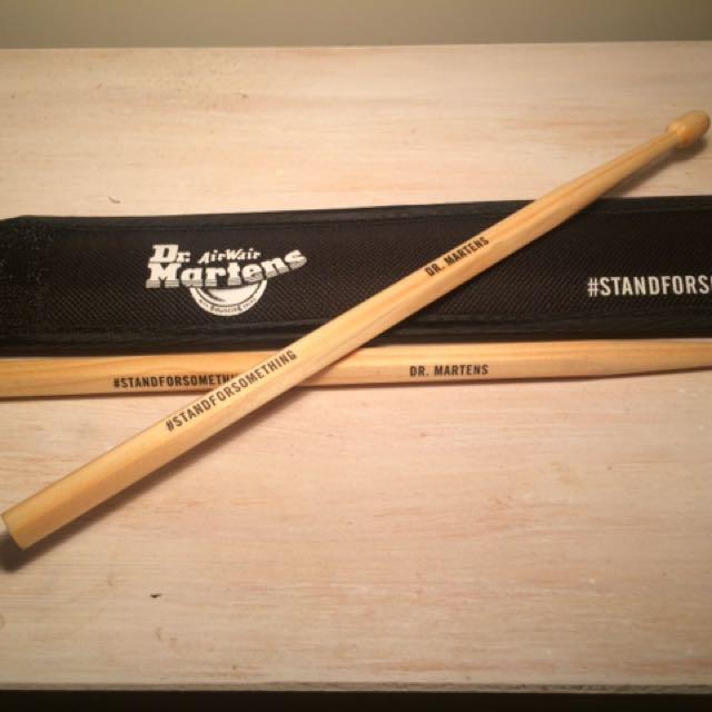 Drum Sticks - Dr Martens