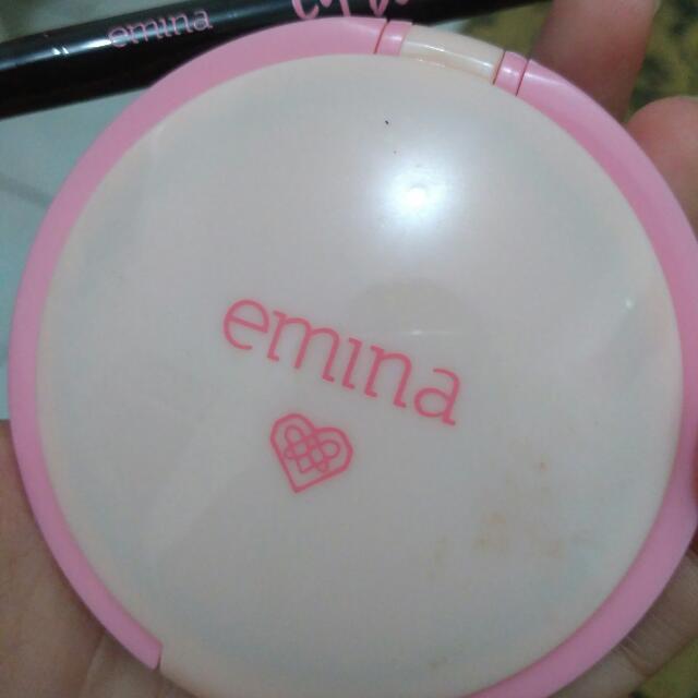 EMINA CC cake + crayon eye liner