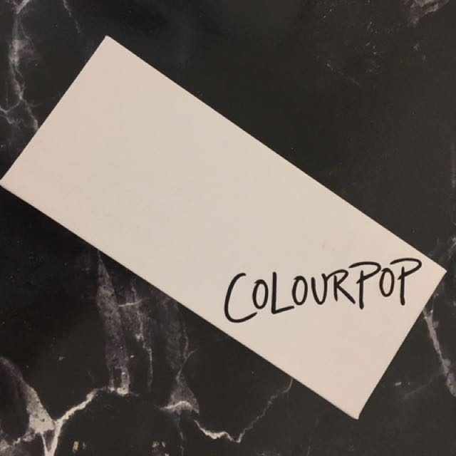 Empty Colourpop Magnetic Eyeshadow Palette