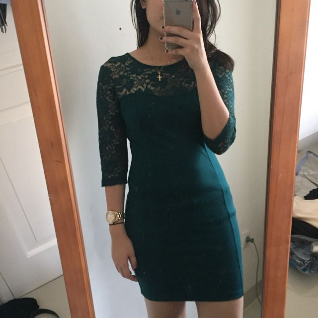 F21 Lacey Dress