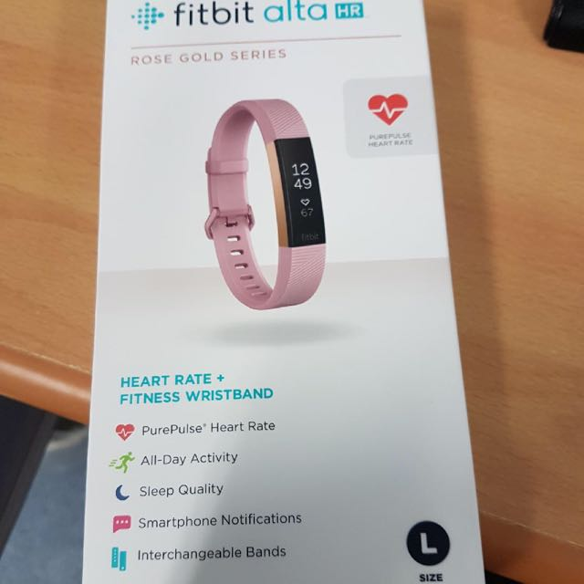 Fitbit Alta Rose Gold Series