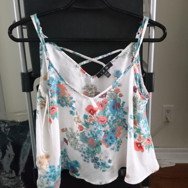 Sirens Floral Tank Top (S)