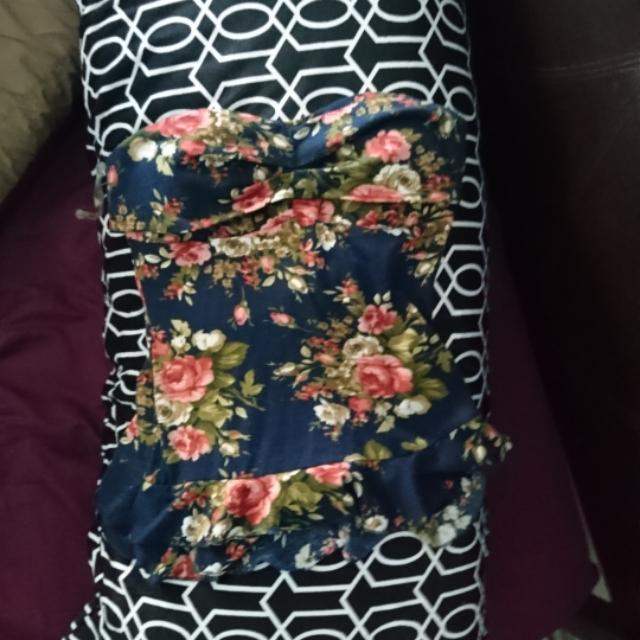 Floral Tube Top (S)