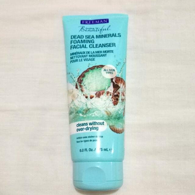Freeman Dead Sea Minerals Foaming Facial Cleansers