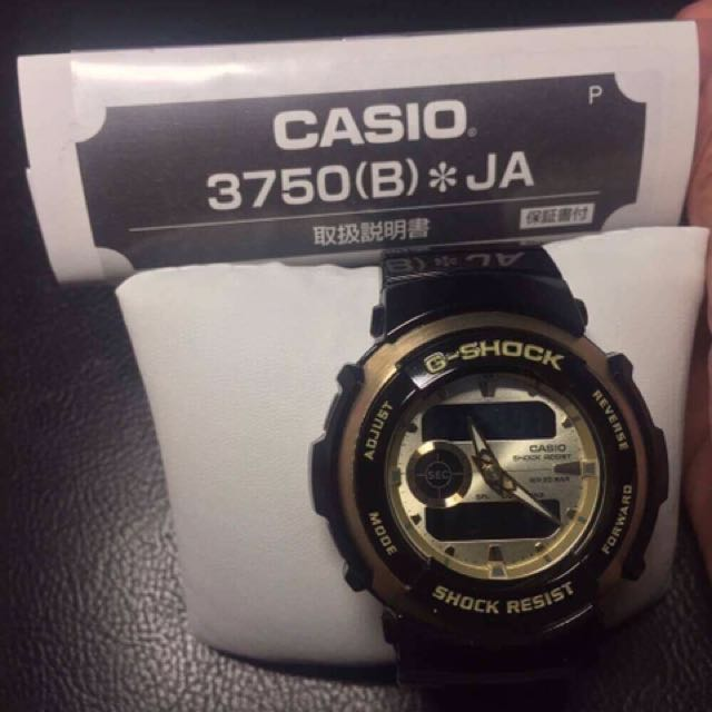 G-SHOCK TREASURE GOLD