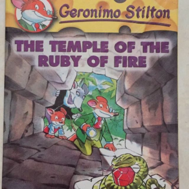Geronimo Stilton Volume 14, The Temple of The Ruby of Fire - Scholastic