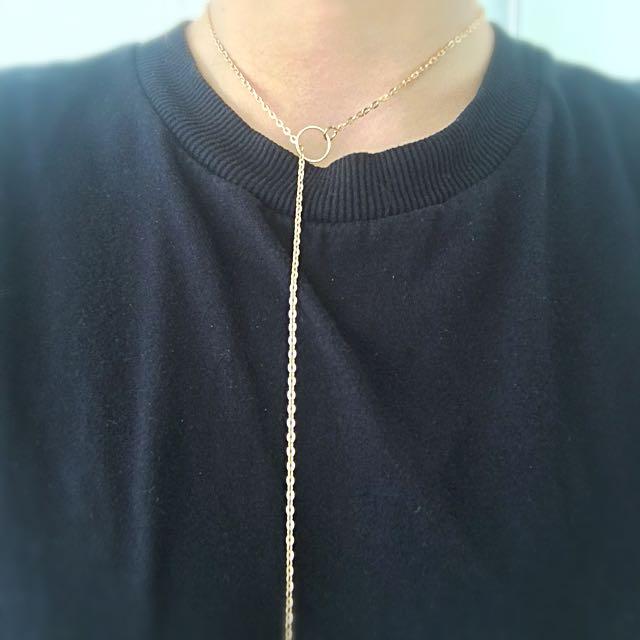Gold Choker Chain