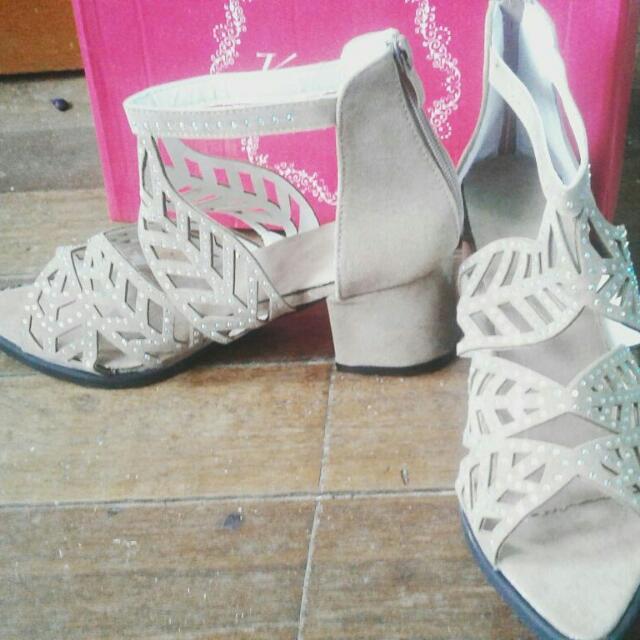 Goodie Sandals ☺ With Heels ❤❤