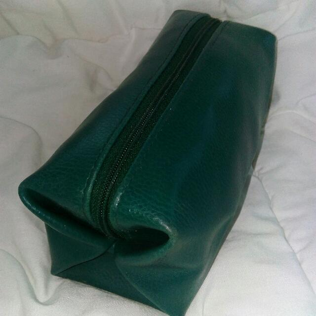 Green Pouch(leather)