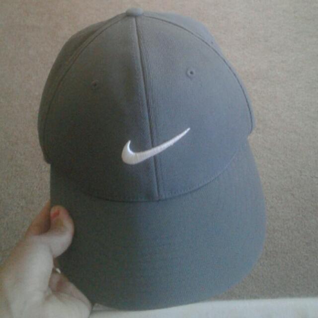 Grey Nike Hat