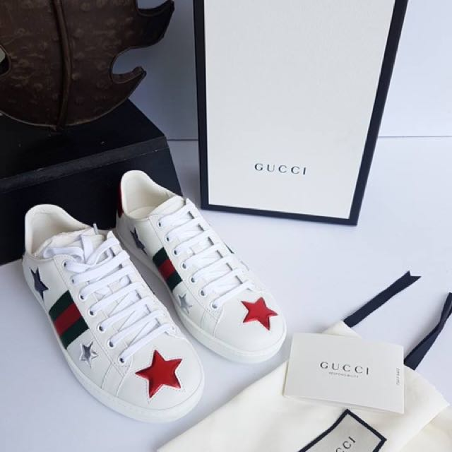 a621a2206 Gucci Ace Star Sneakers on Carousell