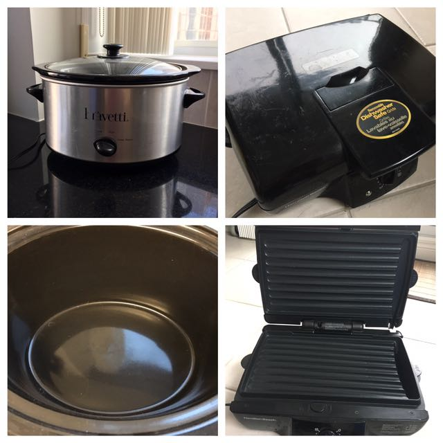 Hamilton Beach Grill And Slow Cooker