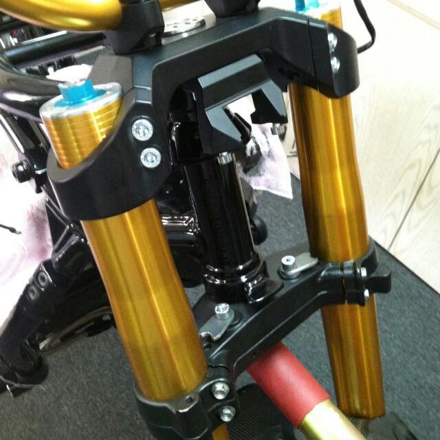 Harley Davidson Custom Inverted Fork