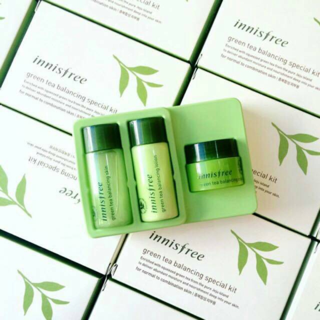 Innisfree Green Tea Balancing Special Kit (3 Items)