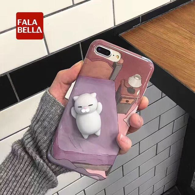 iPhone Cases w Squishy Toys