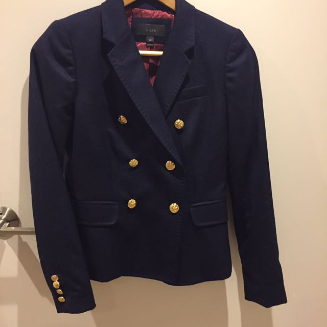 JCrew Sailor Blazer