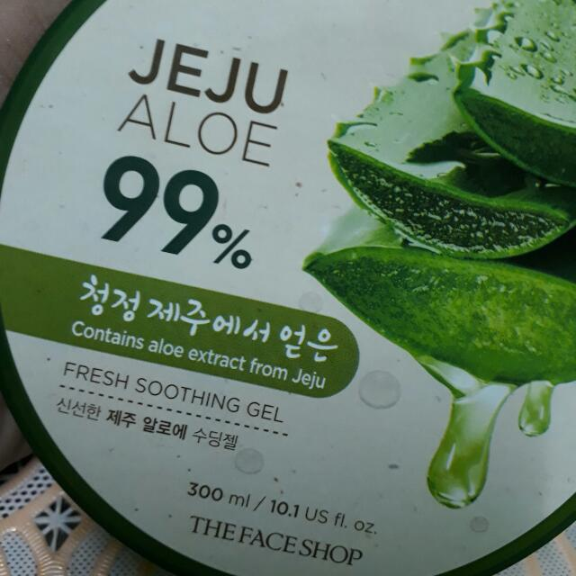 Jeju ALOE from The Face Shop