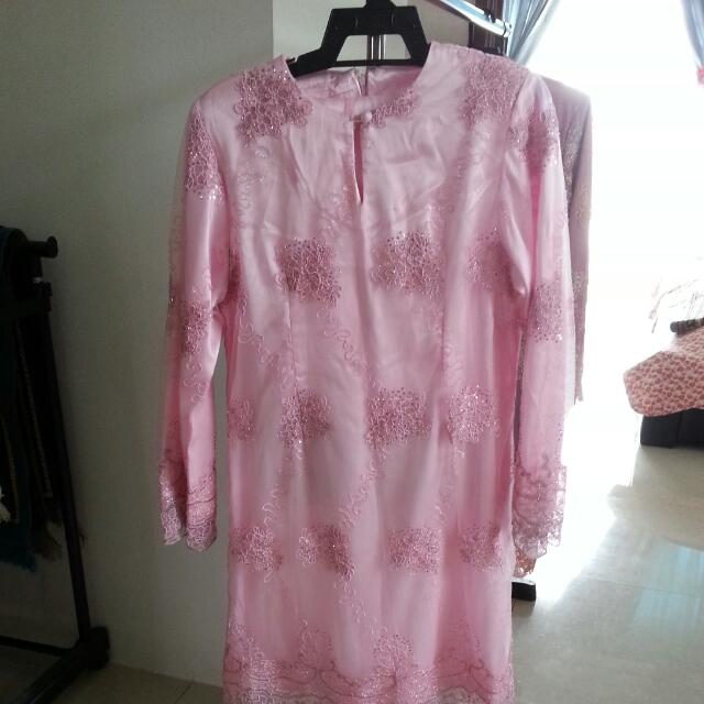 Kurung Lace Pink