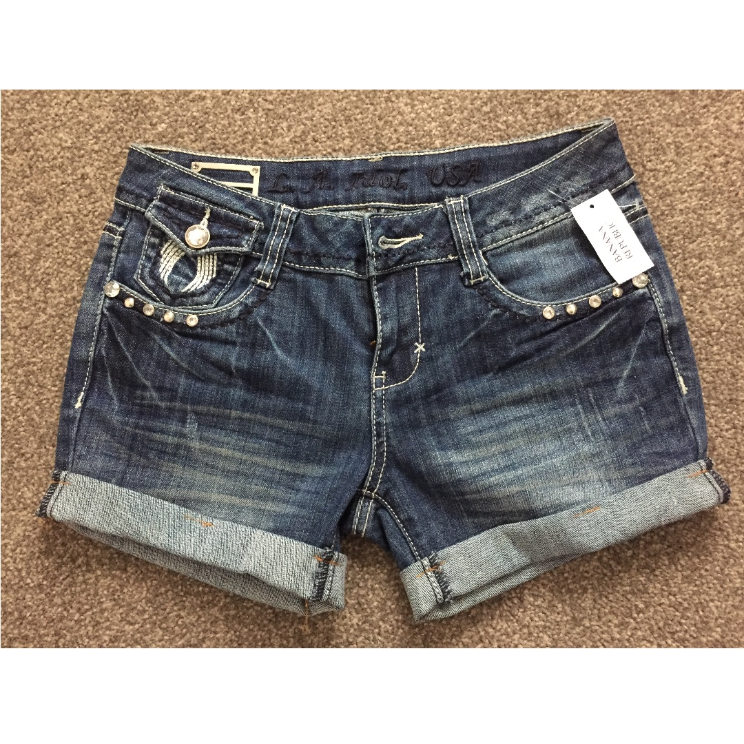 LA Girl USA Jean Shorts