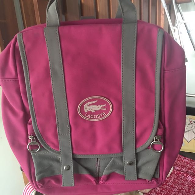 LACOSTE BACKPACK MIRROR QUALITY