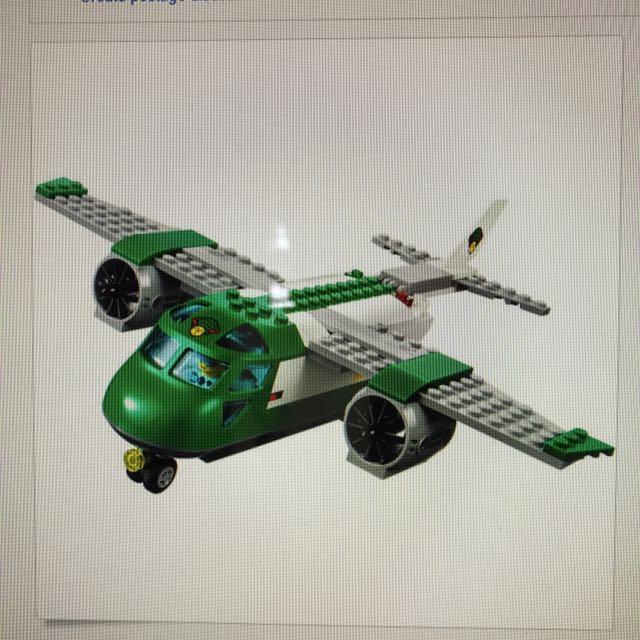 Lego City 60101 - Airport Cargo Plane, Toys & Games, Bricks ...