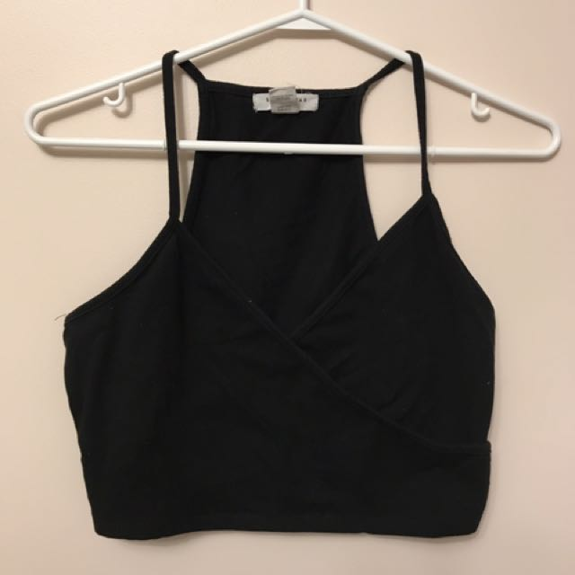 Low Front Cropped Top