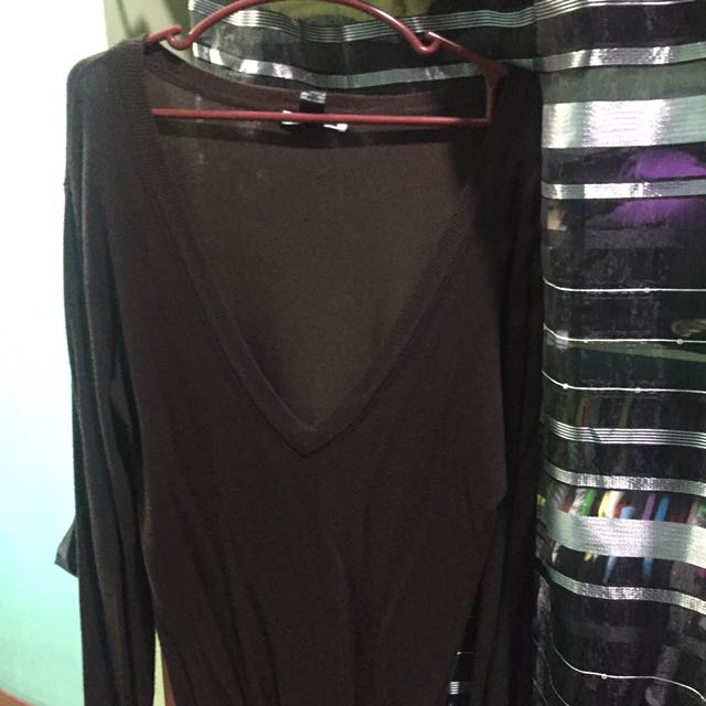 Mango Brown Top Size M