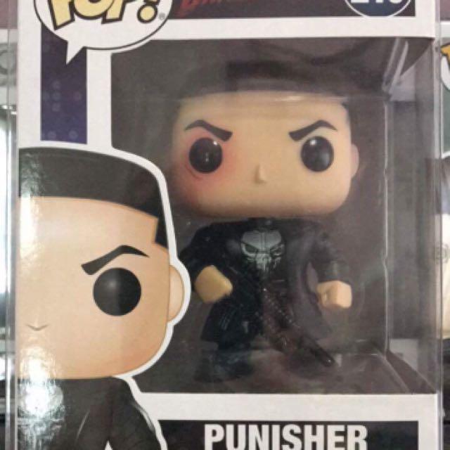 Marvel Daredevil Punisher Funko Pop
