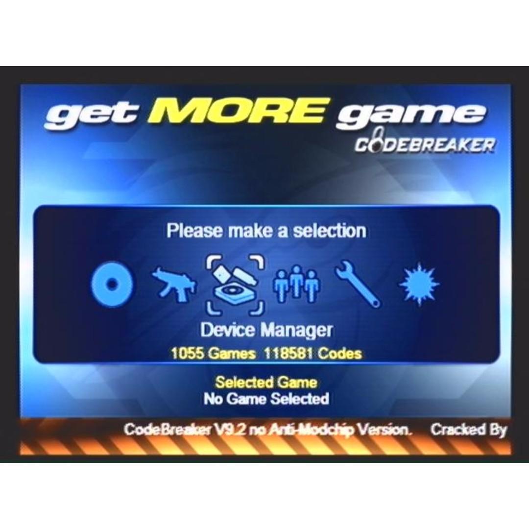 MC BOOT OPL, Codebreaker, HDLoader, Ulaunch, SMS, Video