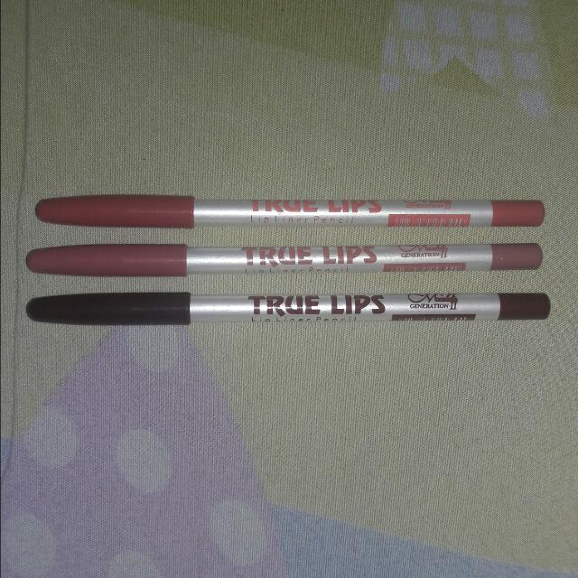 MENOW Lip Liner Pencil (3 )pcs
