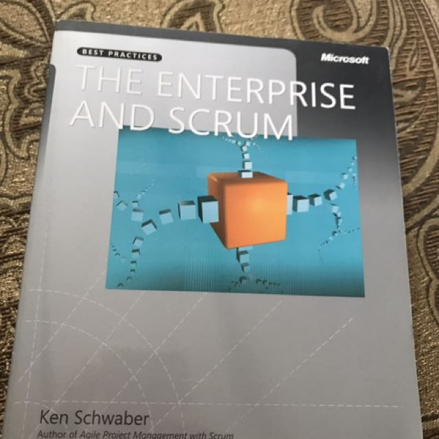 Microsoft The Enterprise And Scrum By Ken Schwaber